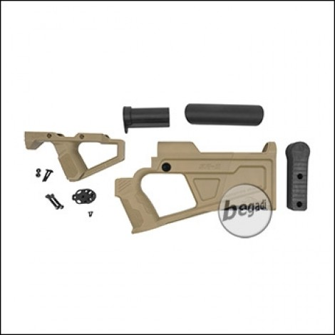 "SRU SR-Q AR ""AEG"" Advanced Kit -TAN-"