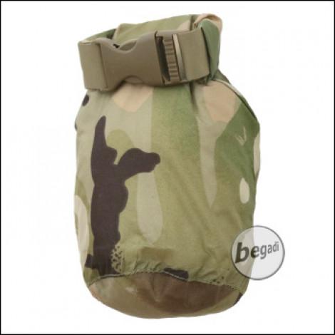 VIPER Lightweight Dry Sack / Drybag 1L, 8 x 17 cm, small  - vcam / multiterrain