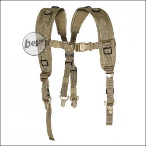 """VIPER Koppel- Tragegestell / Yoke """"Locking Harness"""" für Battle Belts -TAN-"""
