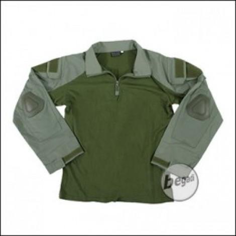 BEGADI Basics Combat Shirt, Alpha Green