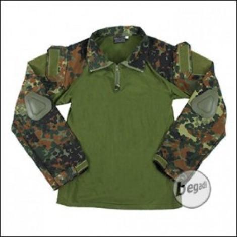 BEGADI Basics Combat Shirt, Flecktarn