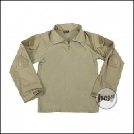BEGADI Basics Combat Shirt, Tan