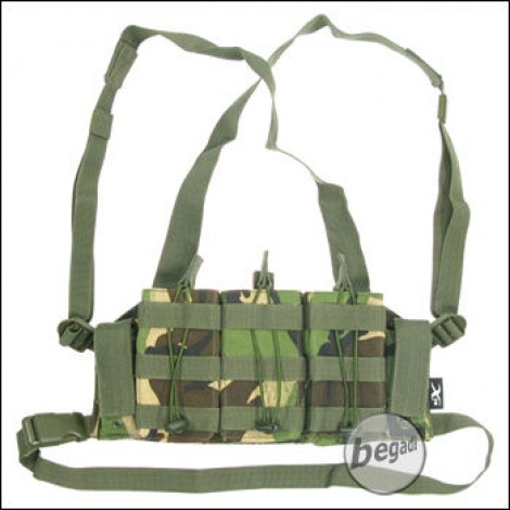 """BE-X Mikro Chest Rig """"G36 Edition"""" - woodland DPM"""