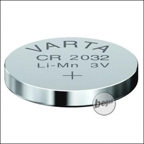 VARTA Knopfzelle CR2032 (3,0V - 230mAh - Lithium)