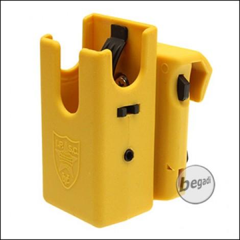 Begadi AIPSC Fast-Access Magazinhalter -gelb-