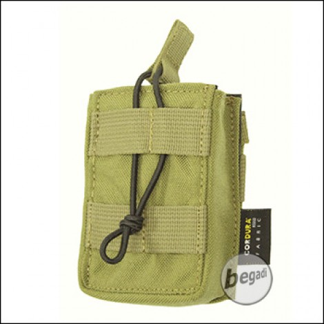 BE-X Open Mag Pouch, single, für G3 / M14 - Coyote Tan / MJK