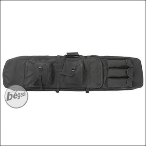 Begadi Langwaffentasche / Futteral, extralang, 120cm - schwarz