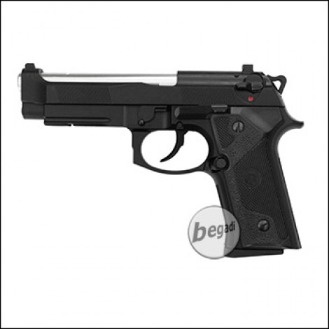 "KJW M9 IA ""PRO"" GBB, schwarz, Gas Version (frei ab 18 J.)"
