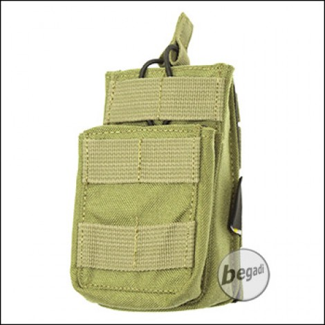"""BE-X Open Type Mag Pouch """"Stacked"""" für M4 / M16 - Coyote Tan / MJK"""