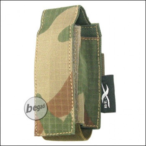 """BE-X Tasche """"40mm Shell"""", single - V2, Rip Stop - rooivalk"""