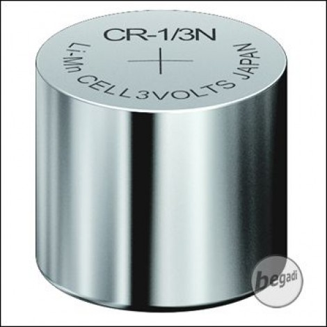 VARTA Knopfzelle CR1/3N (3,0V - 170mAh - Lithium)