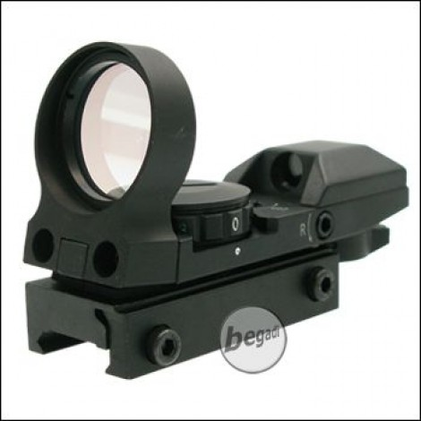 RED DRAGON RD-26DC Tactical Reddot mit 4 Absehen