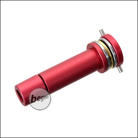 Begadi V2 / V3 Aluminium Springguide mit Lager - rot