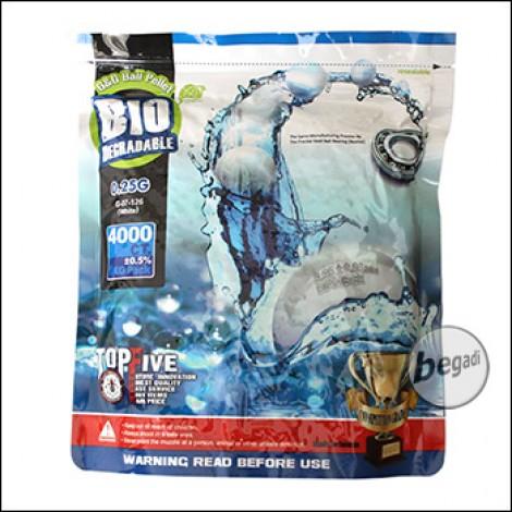 4.000 G&G Bio Precision BBs 6mm 0,25g -hell- im Beutel