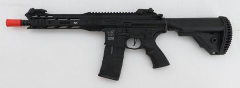 """ICS M4 CXP M.A.R.S. SBR """"PRO SERIES"""" S-AEG, schwarz mit Begadi Core & Maxx Hopup Unit (frei ab 18 J.) [ICS-305]"""