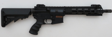 "Tippmann Recon MLOK CQB S-AEG, 9,5"", -schwarz-  [94225] (frei ab 18 J.)"