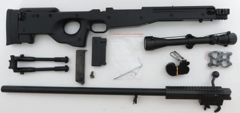 WELL MB01B Sniper inkl. Zielfernrohr -schwarz- < 0,5 J.