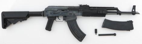 WE AK-74 PMC Vollmetall GBB + zweites Magazin (frei ab 18 J.)