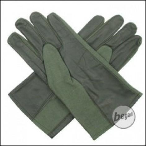 "BE-X NOMEX Handschuhe ""classic"" (kurz), Olive"