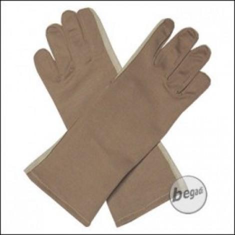 BE-X NOMEX Handschuhe, lang, Tan