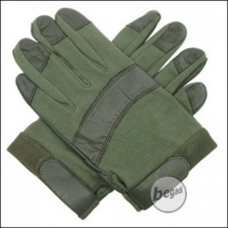 "BE-X Nomex Handschuhe ""Operator"", Olive"