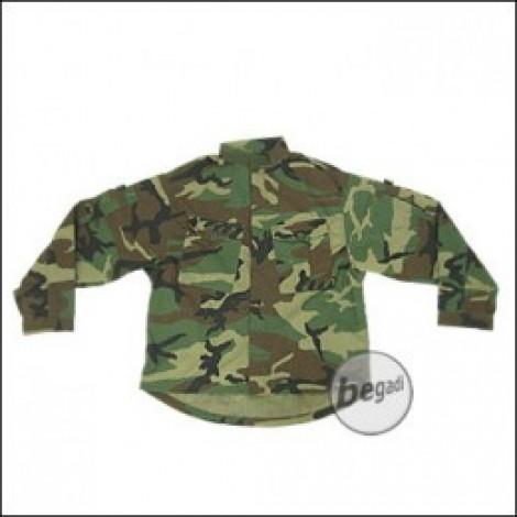 BE-X Basic Combat Jacke, US Woodland