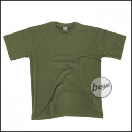 US T-Shirt, halbarm, oliv, 160g/m² - Größe M