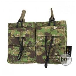 BE-X Open Mag Pouch, double, für G3 / M14 - PenCott Greenzone