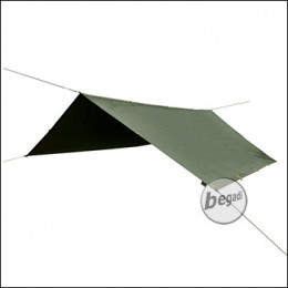 BE-X Ranger II Tarp, Reflective Edition, 290x290cm - olive
