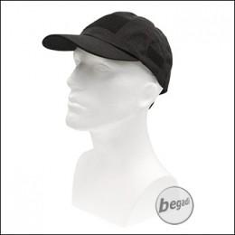 MFH Tactical Cap mit Klettflächen - schwarz