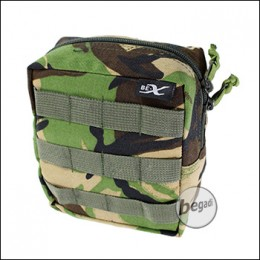 "BE-X Tasche ""Shingle small"" - woodland DPM"