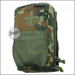 BE-X IFAK Tasche auf Abreißplatte - flecktarn