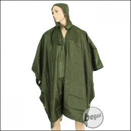 BE-X FronTier One Rugged Reflective Poncho - olive