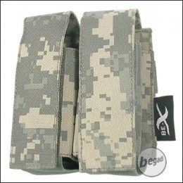 "BE-X Tasche ""40mm Shell"", double - UCP (ACU)"