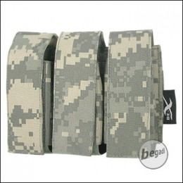 "BE-X Tasche ""40mm Shell"", triple - UCP (ACU)"