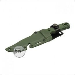"""UFC Übungsmesser / Dekomesser Typ M37 """"mit Clip"""" - olive [UFC-AR-68OD]"""