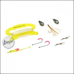 "BCB Angelset ""Fishing Kit"", mit Spindel & Ködern"