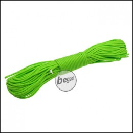 "BE-X Paracord ""Bright green"", 550lbs, 30m"