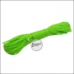 "BE-X Paracord ""Bright green"", 550lbs, 30m"