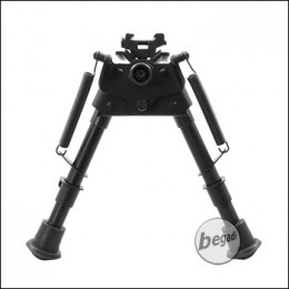Begadi -6 Zoll- Bipod, längenverstellbar, mit RIS Mount