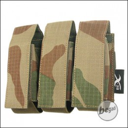 """BE-X Tasche """"40mm Shell"""", triple - V2, Rip Stop - rooivalk"""