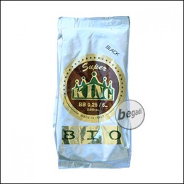 2.000 SUPER KING AIRSOFT BIO BBs 6mm 0,25g schwarz