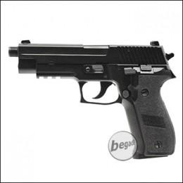 KJW KP-01 GBB, schwarz, Gas Version -mit 14mm Gewinde- (frei ab 18 J.)