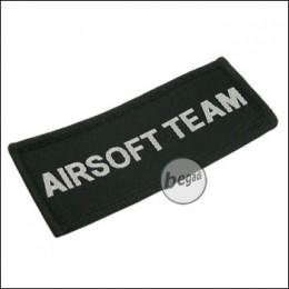 """Aufnäher """"Airsoft Team"""", neue Version - schwarz"""