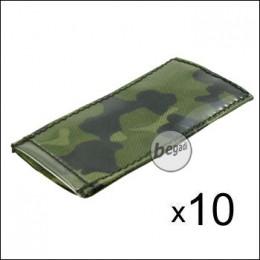BE-X Modular ID Tags - 10er Pack - dänisch tarn