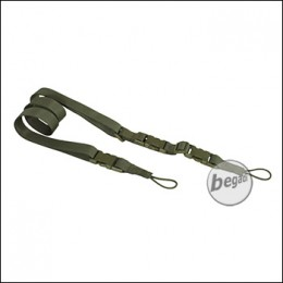 BE-X FronTier One 3 Punkt Universal Sling, made in Germany - olive