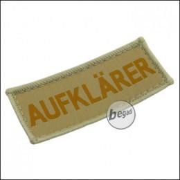 "Aufnäher ""Aufklärer"", neue Version - TAN"