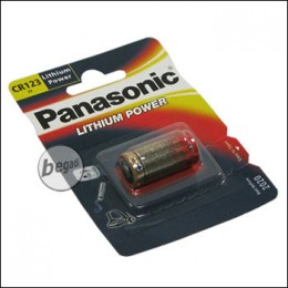 Panasonic CR123A Batterie (Lithium, 3.0V)