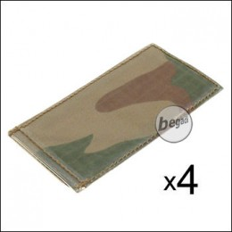 BE-X Modular ID Tags - 4er Pack - rooivalk