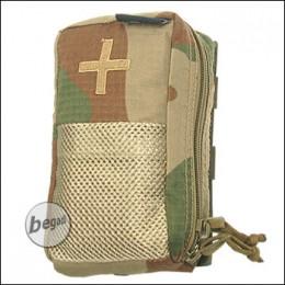 BE-X IFAK Tasche auf Abreißplatte - V2, Rip Stop - rooivalk